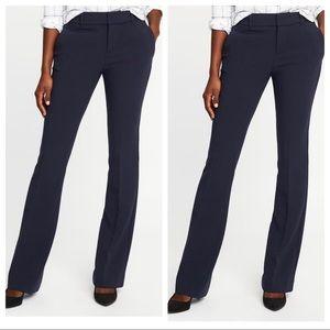 Mid Rise Slim Flare Harper Full Length Pants 4P